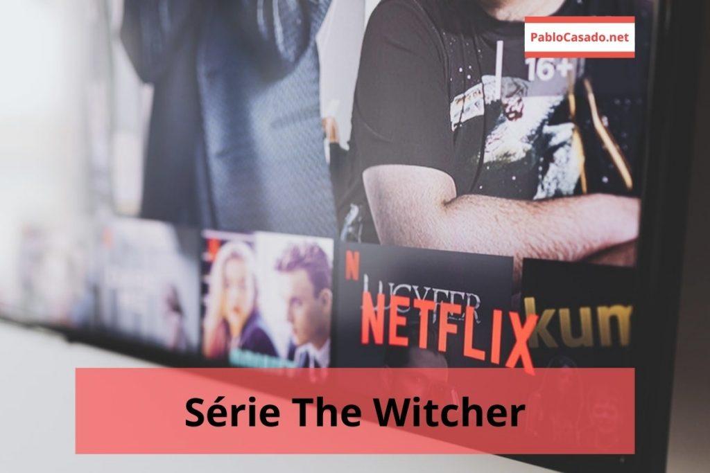 Imagem ilustrativa da série the witcher